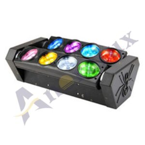 ANORALUX 8 x 10W LED Spider Moving Head Beam Light