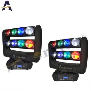 ANORALUX LED Spider Moving Head Beam 8x10W RGBW